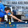 Tallinna koolinoorte MV 2017 piljardis
