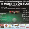 EESTI MV piljardis 2017