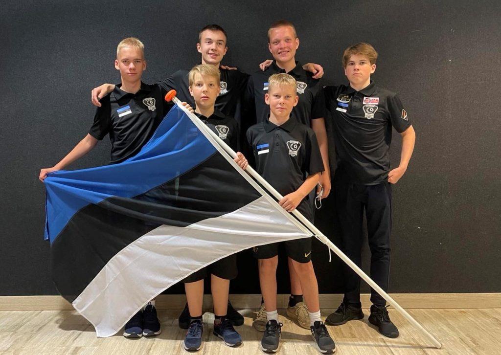 Eesti juunioride koondis 2021